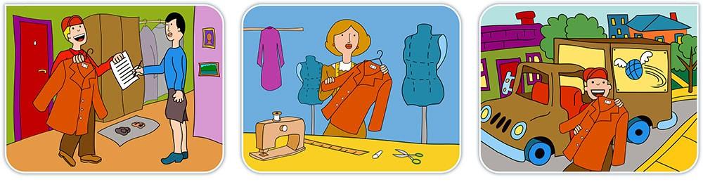 Ремонт одежды с доставкой