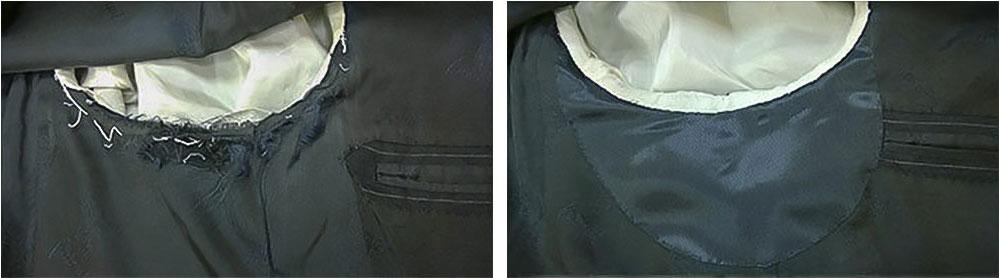 Замена подкладки на пальто своими руками