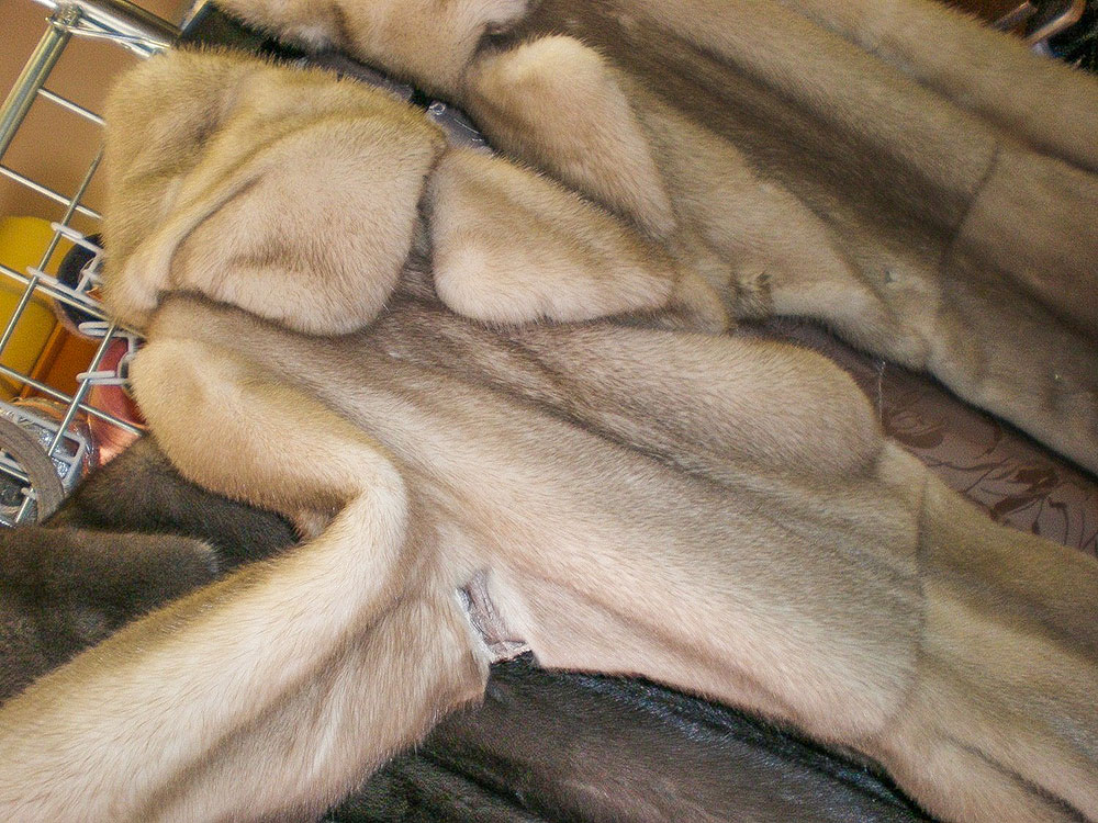 Ремонт меха своими руками