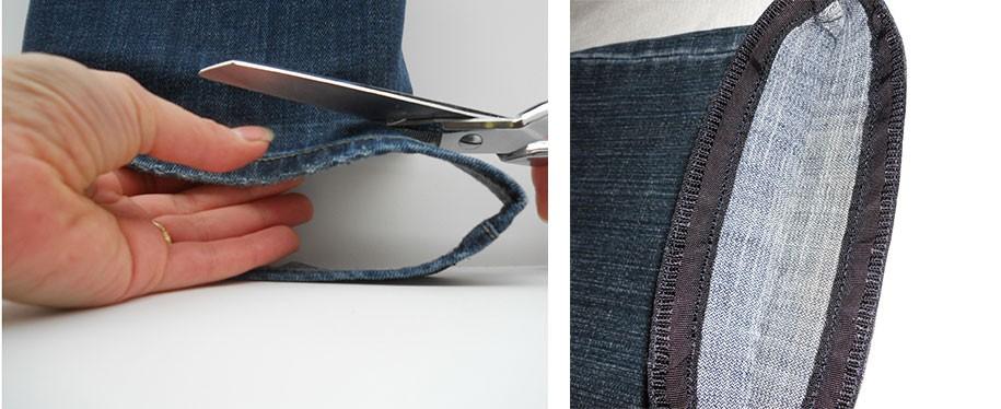 Акция! Укоротить джинсы, брюки со скидкой. ✅ Уменьшим длину, сохраним вареный край. Ткань и трикотаж. ❤ Посмотрите примеры работ!