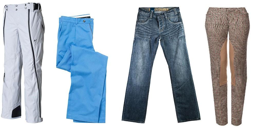 Укоротить джинсы, брюки
