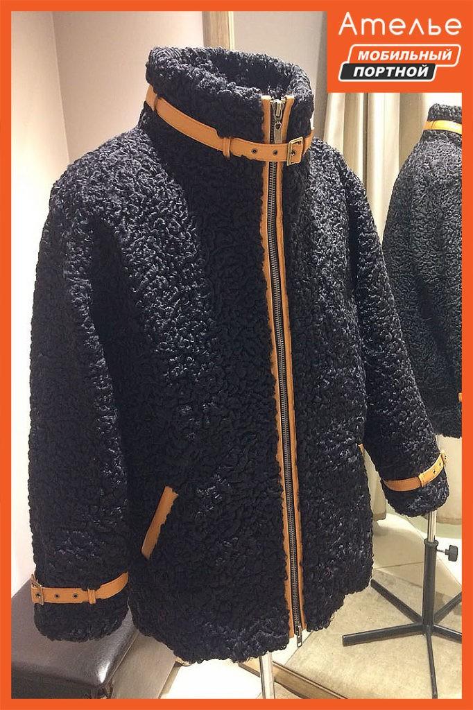 Пошив мужской меховой куртки