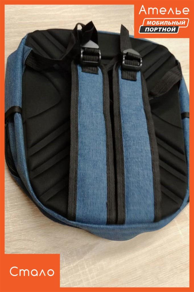 Ремонт оторванных лямок рюкзака