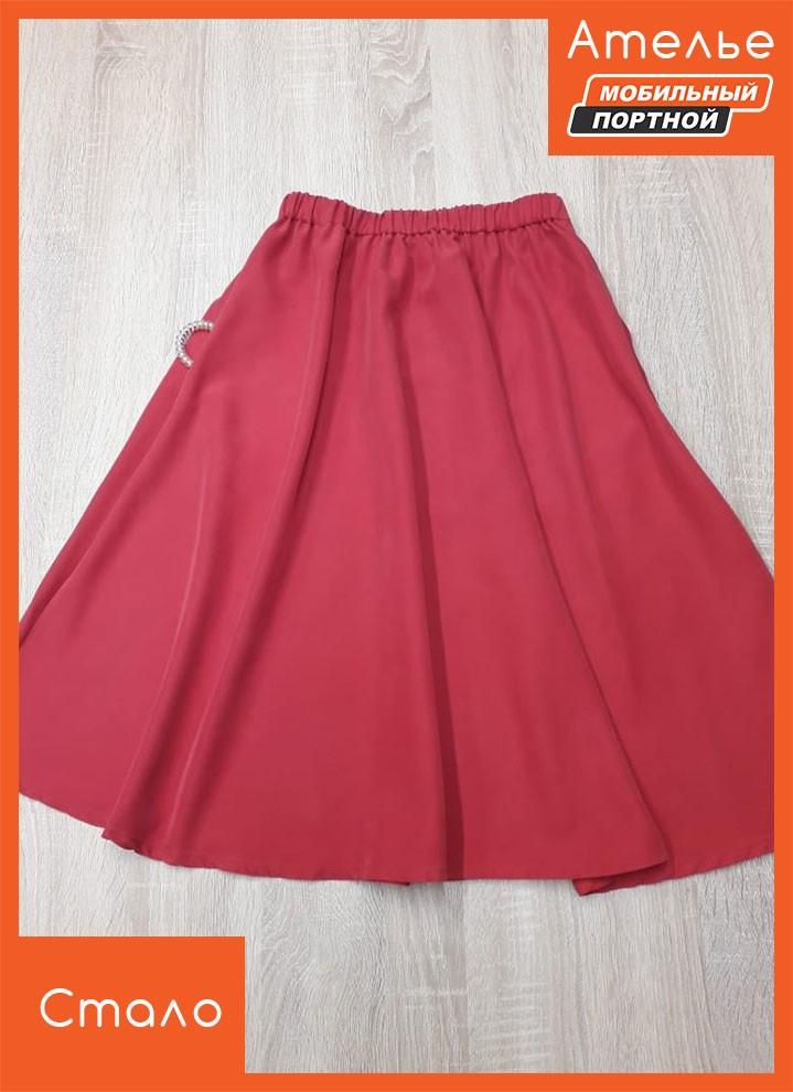 Перешив платья в юбку