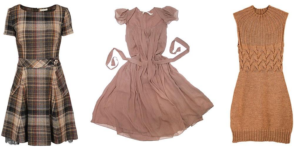 Подшив платья