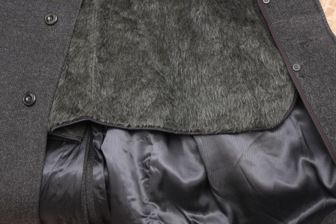 Утеплить пальто мехом