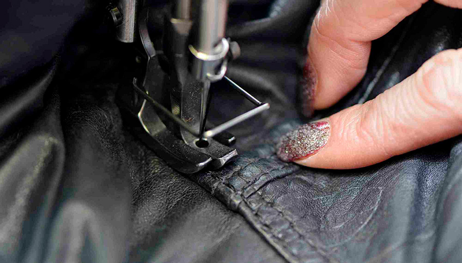 Как отреставрировать кожаную куртку