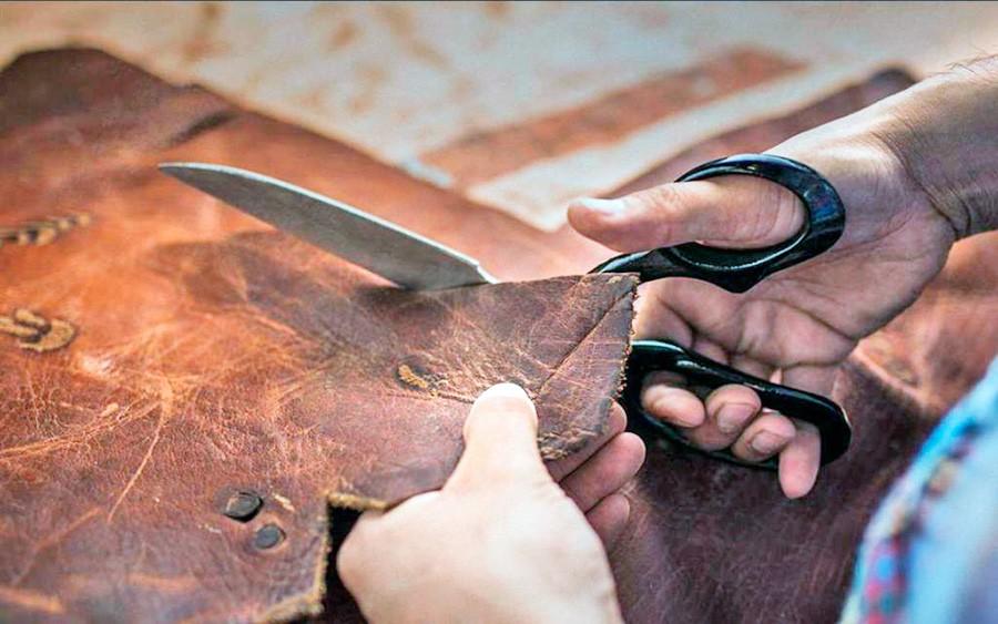 Как перешить кожаную куртку