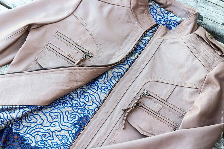 ушить куртку на несколько размеров