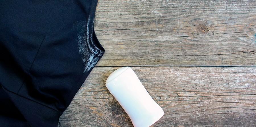 Вывести пятна от дезодоранта