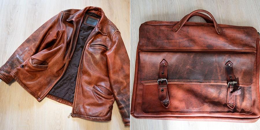 Как из кожаной куртки сделать сумку