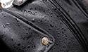 Кожаная куртка попала под дождь? Как ее можно спасти