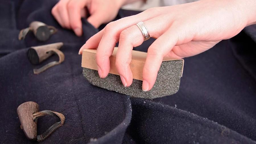 Очистка кашемировой одежды от пятен