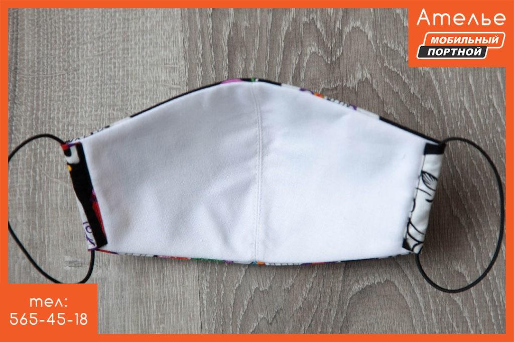 Пошив масок из ткани для лица из натурального хлопка. 3 или 2 слоя ткани. Многоразовое использование. Сатин премиум класса. Пошив масок из ткани для лица из натурального хлопка. 3 или 2 слоя ткани. Многоразовое использование. Сатин премиум класса. Маска защитная «Череп»