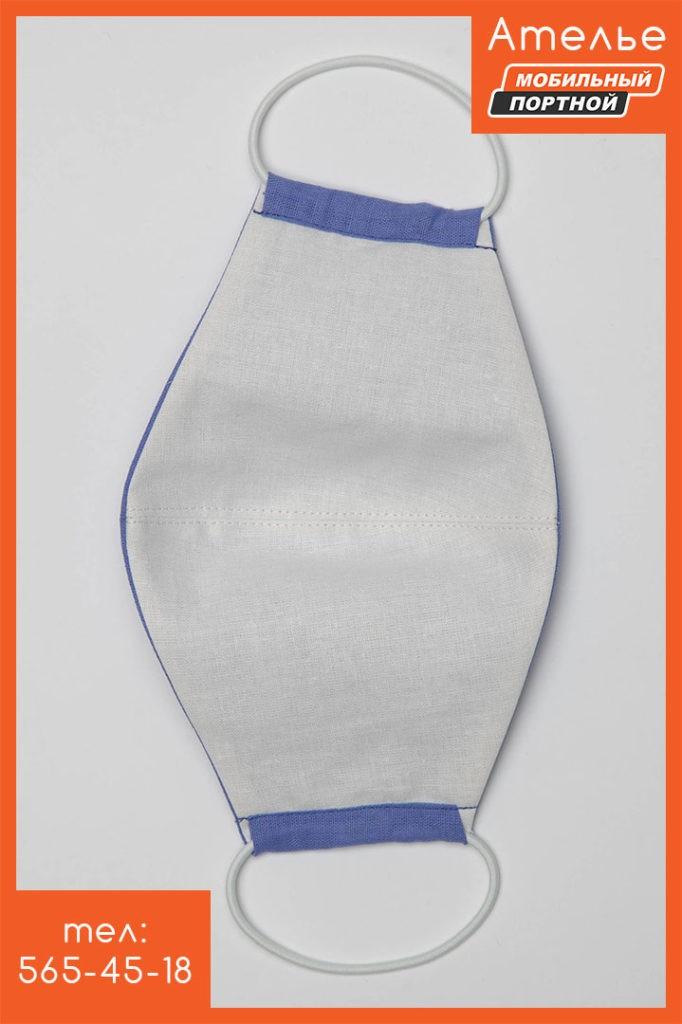Пошив масок из ткани для лица из натурального хлопка. 3 или 2 слоя ткани. Многоразовое использование. Сатин премиум класса.