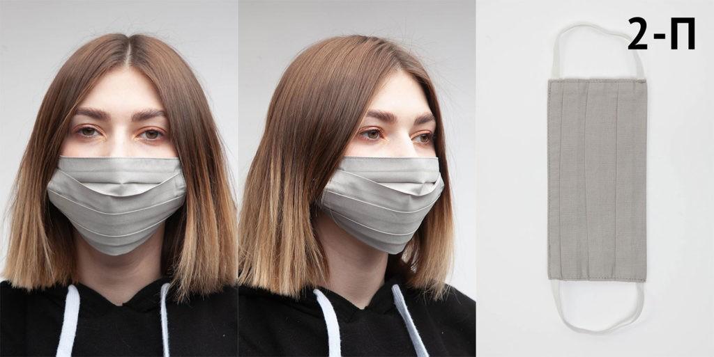Пошив масок из ткани для лица из натурального хлопка. 3 или 2 слоя ткани. Многоразовое использование. Сатин премиум класса. Маска защитная в 2 слоя из европейского хлопка (1)