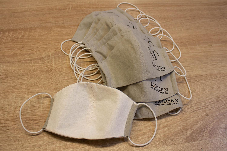 Защитная маска для лица из ткани
