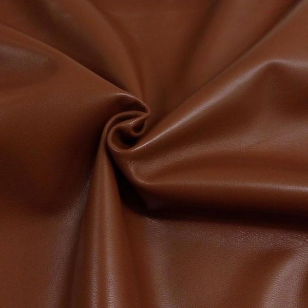 Коричневая одежная кожа для пошива