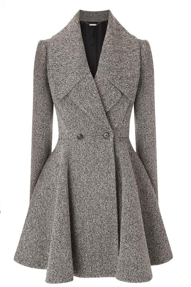 Пошив женского пальто в ателье