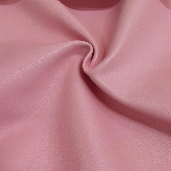 Розовая одежная кожа для пошива