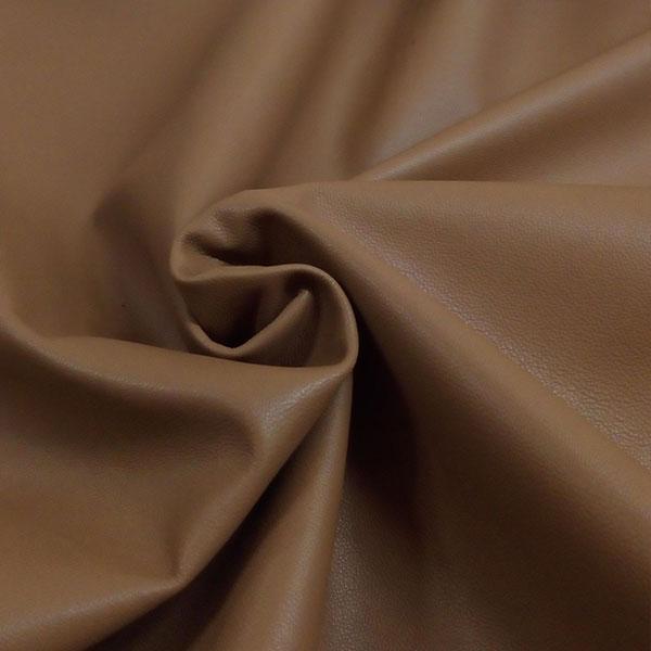 Светло-коричневая одежная кожа для пошива