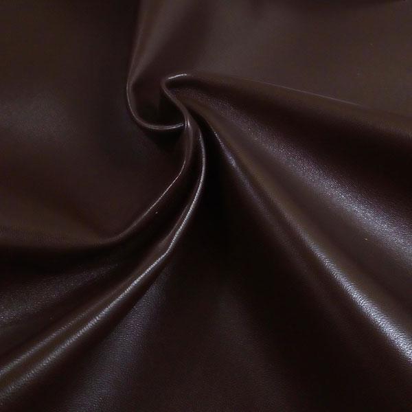 Темно-коричневая одежная кожа для пошива