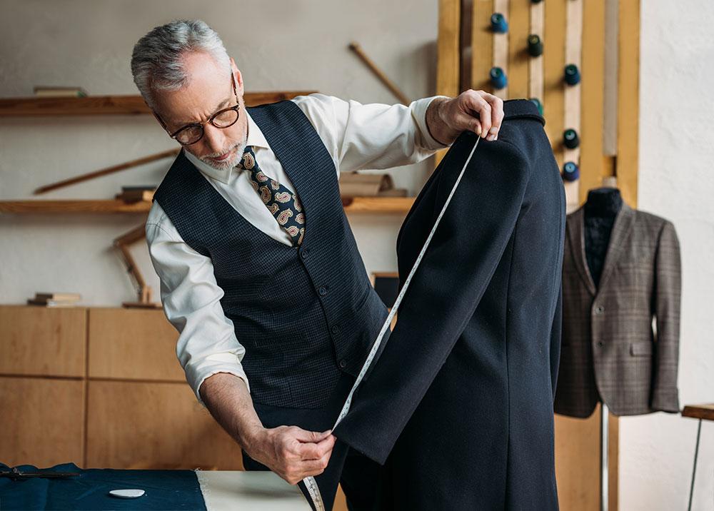 Пошив мужского пальто в ателье